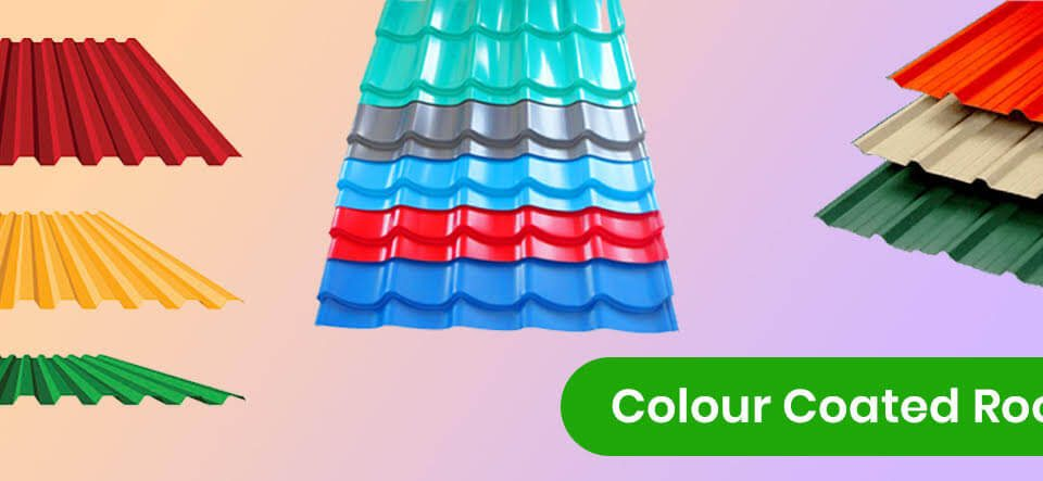 colour coated roof sheets