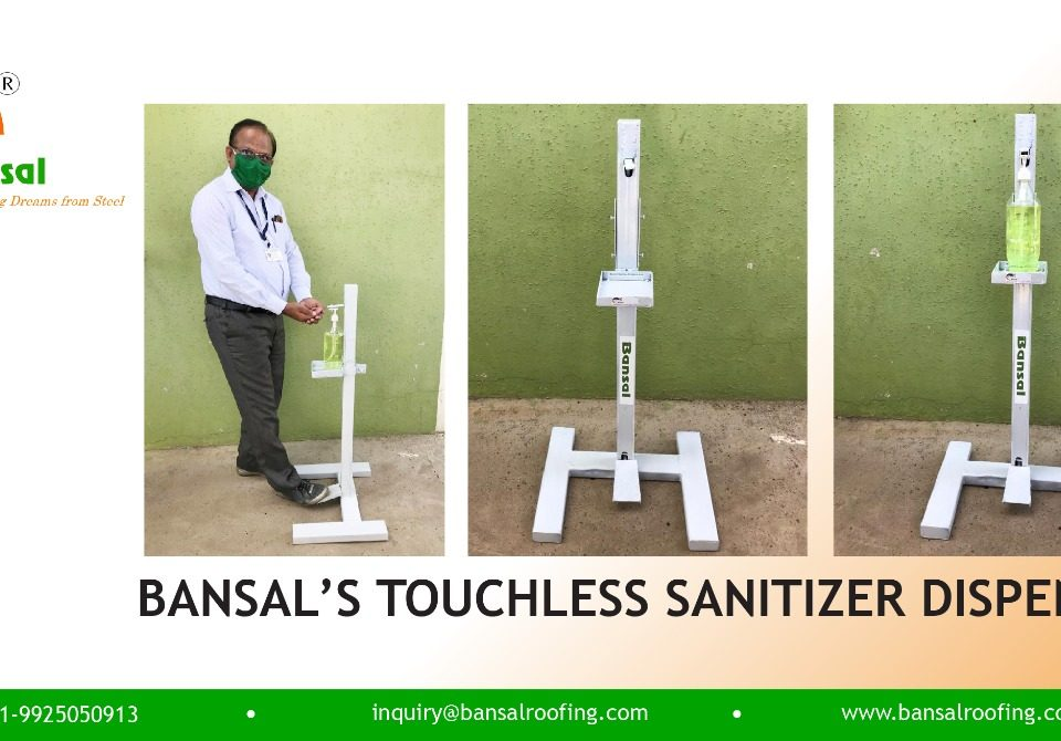 Touchless Sanitizer Stands