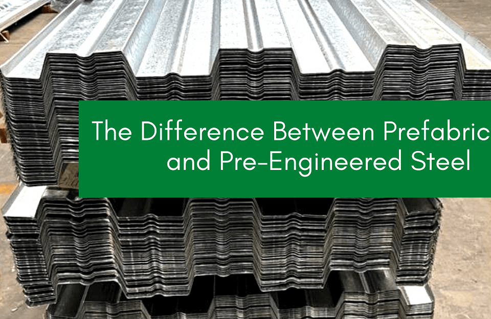Difference Between Prefabricated and Pre-Engineered Steel Building PEBs