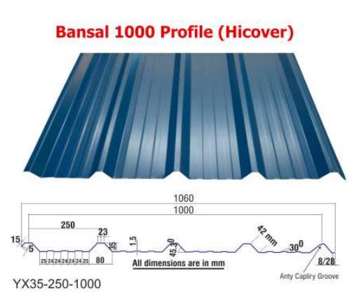 Bansal 1000 Profile Hicover