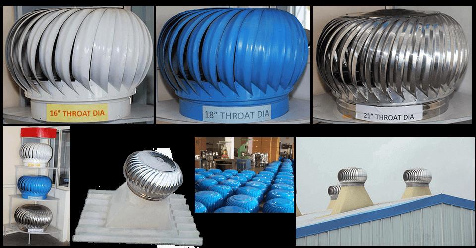 Turbo Eco Ventilators