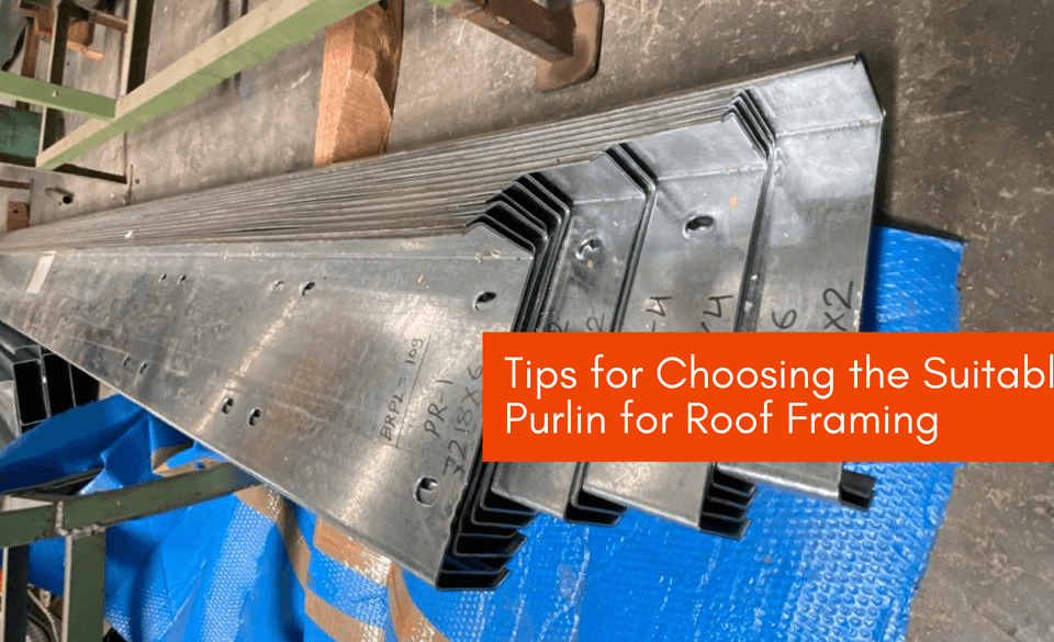 Purlin for Roof Framing